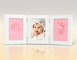Baby Keepsake Handprint and Footprint Photo Frame for craft