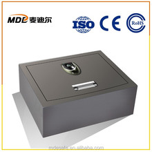 CE Apporval Top Open Portable Fingerprint Safe by Digital Door Lock