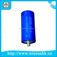 High Quality Two Lead-out Type Super Farad Capacitor