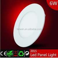 Excellent design round led panel light with 50000 hours lifespan