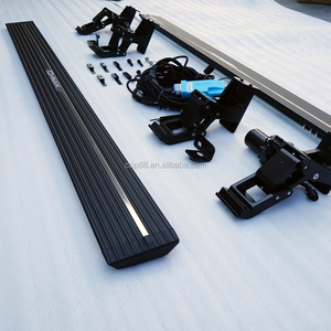 Automatic running board for DMAX CREW CAB 2013+ retractable side step