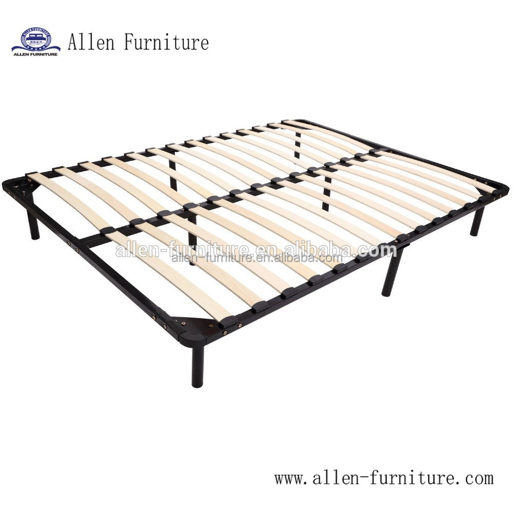 Factory supply latest design queen size wood bed frame
