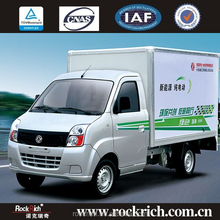Famous Dongfeng brand cargo truck pure electric mini truck for sale