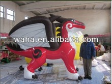 Hot !!!! big event party decoration cartoon/inflatable dragon