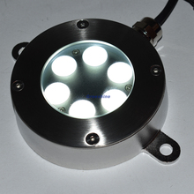 18W Color changing led fountain ring light With 316ss IP68 underwater lamp