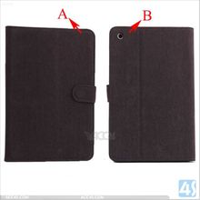 Slim Fit Hard Leather Case for Apple iPad mini 2 with Retina Display and for iPad mini Built-in Stand P-APPIPDMSPCA001