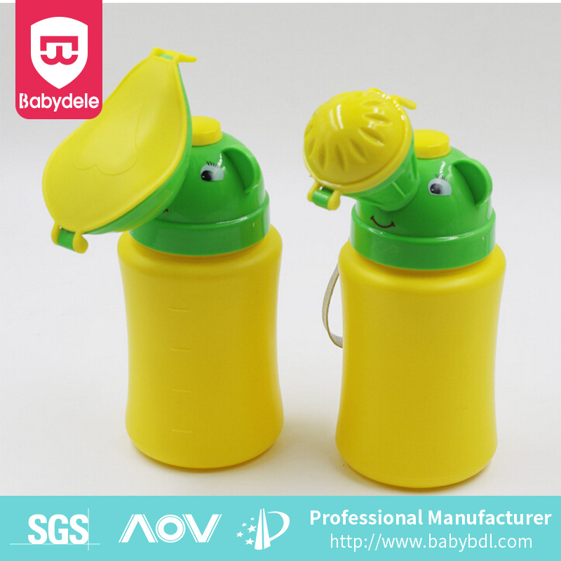 Portable travel baby urinal plastic kids pee potty factory manufacturer