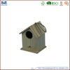 Wholesale Wood Slat Roof Birdhouse, Decorative Bird House