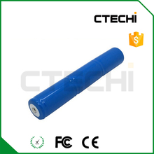 3.6V rechargeable Ni-Cd battery C size 2500mAh capacity