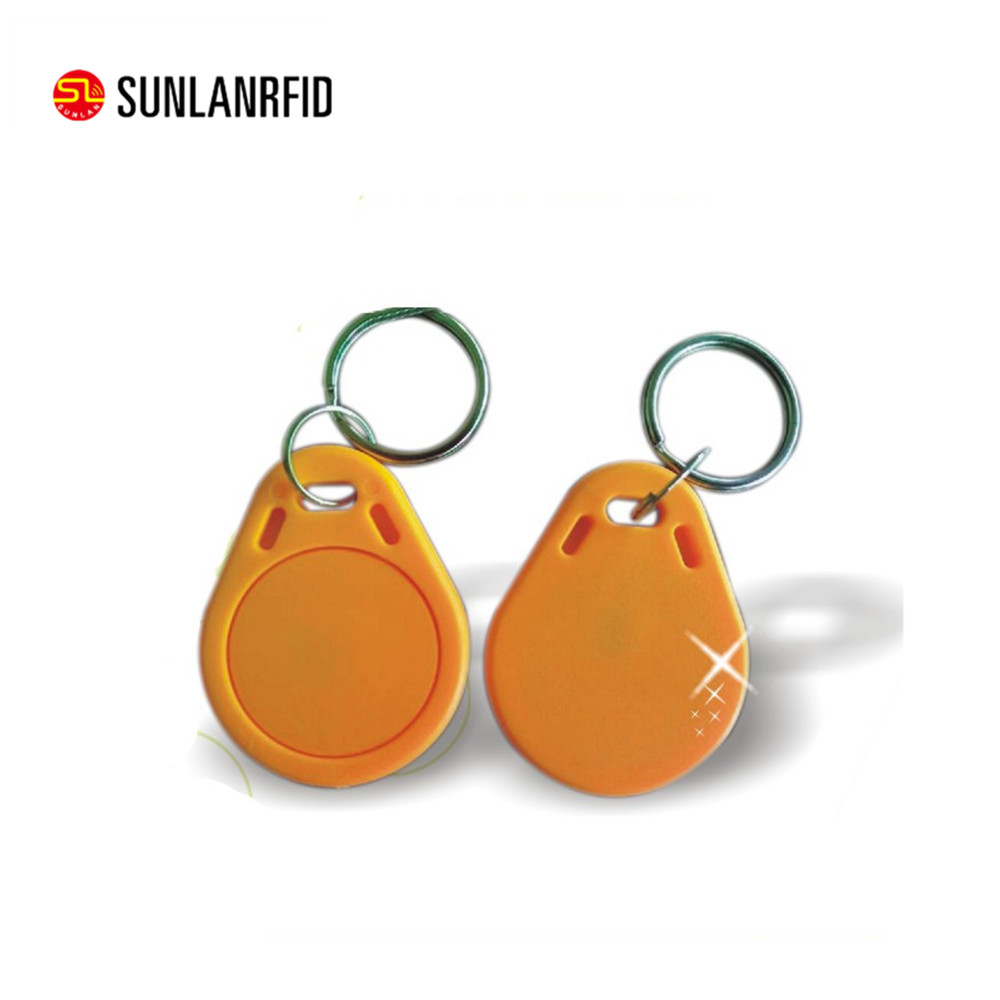 Free Sample Active Rfid Tags Plastic ABS EM4205/EM4305 125KHz RFID Key fob for Time and Attendance