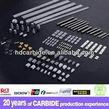 Manufacturer supply all kinds of tungsten carbide