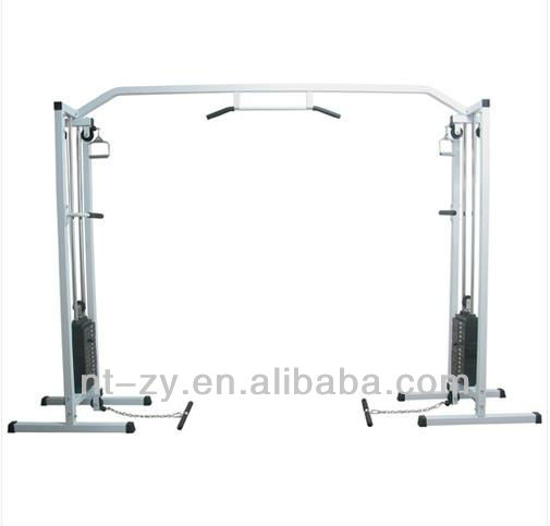 Commerical Gym Cable Crossover /Exercise equipment + 150kg Weight Stacks