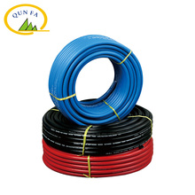 "3/8"" non-kinking flexible no smell pvc rubber braided Air Hose"