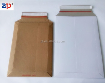 corrugated cardboard envelope shipping mailers