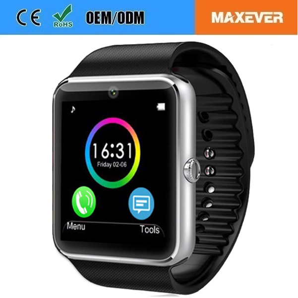 Mobile Phones Watch GT08 Bluetooth Pedometer Smart Watch