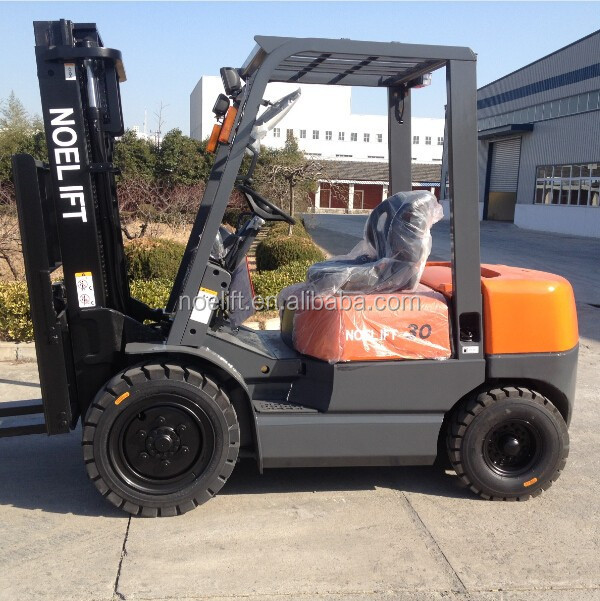 3ton Olift diesel forklift truck with multiple attachment choices