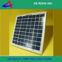 10W solar panel using for charging tablets.