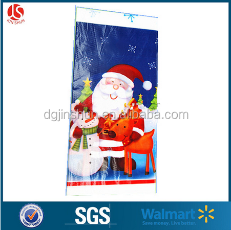 Merry Christmas table cloth with Santa Claus