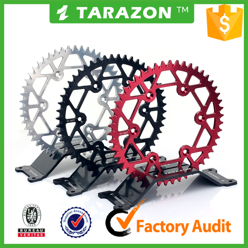 Off-Road motorcycle Aluminum 7075 rear chain sprocket