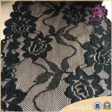 Hight quality 15cm black religious bridal garment lace trim YBS1880#