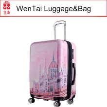 Top sell fashionable aluminum trolley classic expendable luggage
