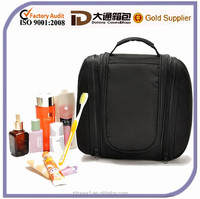 Black Makeup Men Travel Hanging Foldable Korean Cosmetic Toiletry Bag