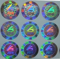 2014 3D printing hologram stickers