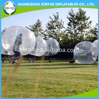 Good quality human bumper ball inflatable bumper ball for adults
