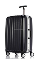 Factory price travelling luggages abs+pc luggage suitcase trolley luggage case multiple colors