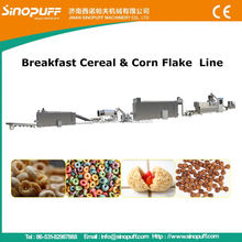 Twin Screw Extruder Equipment For Corn Flakes/Soy Steak Protein Extruder