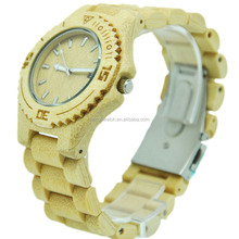 new style hot sale cheap bamboo watch Factory OEM Handmade Wood Watch Natural bamboo watch