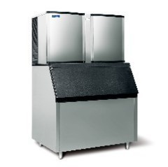 square cube ice machine/40 kgs/24H output ice machine for cube ice