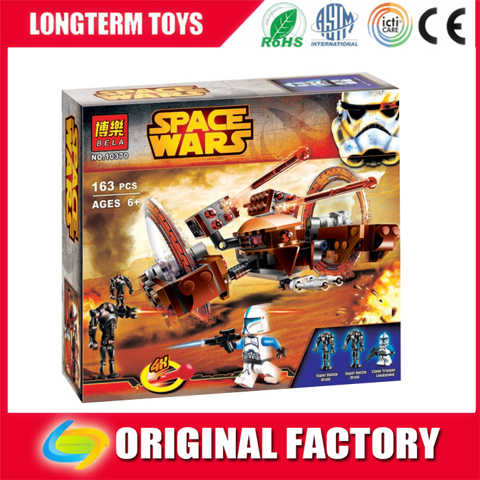 Space fights plastic building bricks toys for boys
