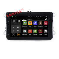 Car Radio touch scree andriod 7.1 8 inch for v w passat b7 car gps navigationwith PASSAT/JETTA/SKODA/CC/POLO/Golf 5- 6 2006-2012