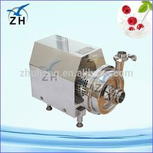 Hot sale food grade Sanitary electric water pump with pressure tank