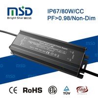 constant current led driver 50w 70w 80w waterproof transformers outdoor led lamp power supply