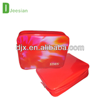 red color cosmetic bags & cases for ladys