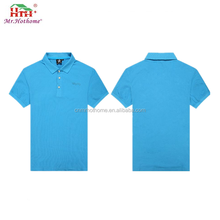 Wholesale 100% cotton polo t shirt simple