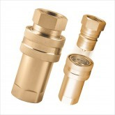QCBR SERIES BRASS QUICK COUPLINGS