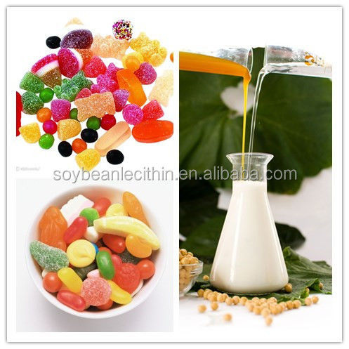 confectionary additives modified emulsifiers type lecithin soy liquid