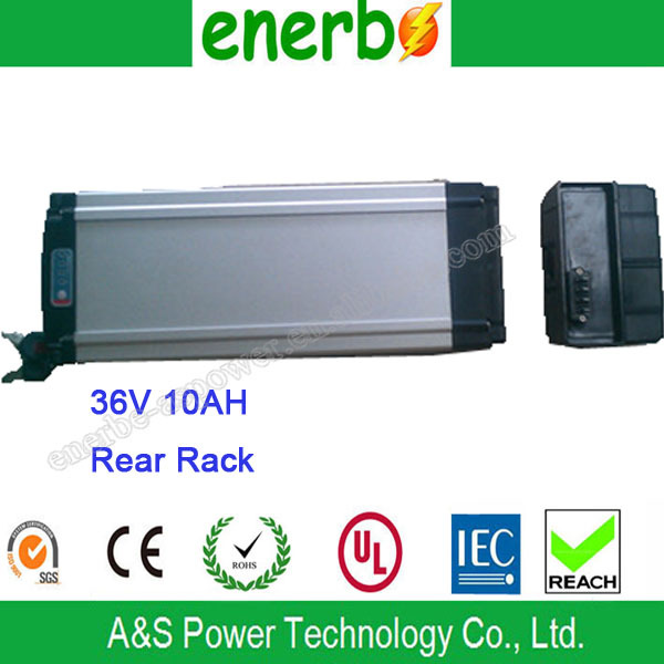 Super Power Electric Bicycle Battery 36V 10Ah Rechargeable Lithium Ion Phosphate Batteries Pack from China Manufacturer