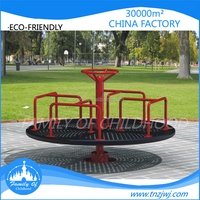 Factory directly sale outdoor tagada park rides turntable equipment