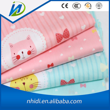 wholesale tc twill cats printed children bedding woven fabric