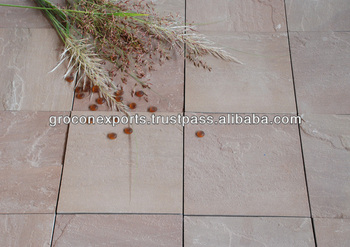 Autumn Brown Sandstone Tile & Slab