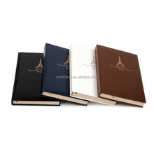 China oem stationery market leather notebook 2017