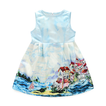 Hot Sale Latest Kids Frocks Designs Casual Style Summer Children Girls Dresses
