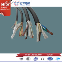 flex plastic cables and wires, 3 core 1.5mm flexible pvc wire