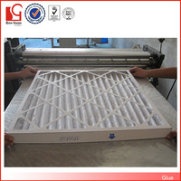wholesale MERV 8 high Capacity Paper Furnace Folding Filter