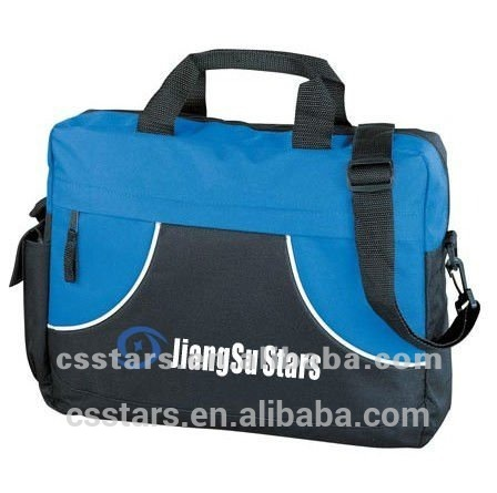 Blue/Navy 600D Polyester Conference Bag