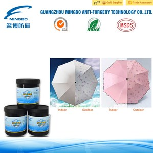 silk screen printing solar discoloration ink for plasic material